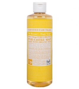 CITRUS ORANGE ORGANIC LIQUID SOAP | Dr. Bronners