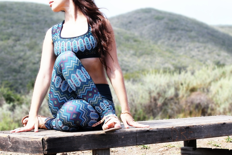 Eco friendly Yoga Pants made in the USA | Yoga Democracy x Fashionhedge