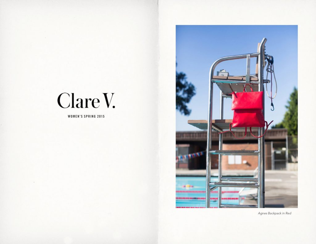 Clare V. LA designer Lookbook | Conscious shopping Guide