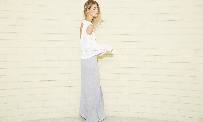 LNA skirt Made in Los Angeles California Shop Made in USA fashion | Conscious Shopping Guide