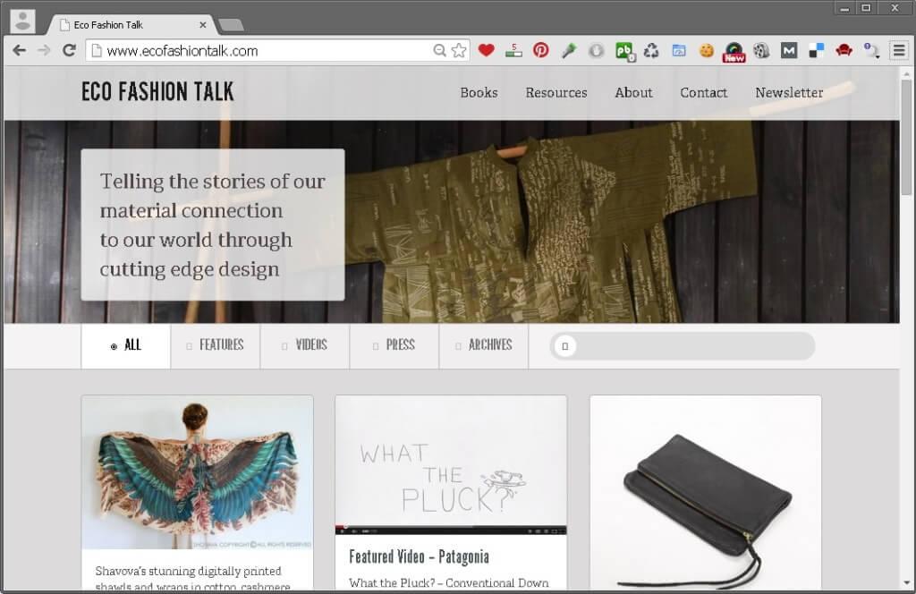 Eco Fashion Talk