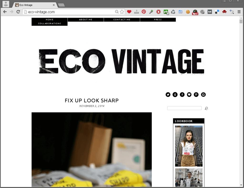 Eco Vintage   Slow fashion blog