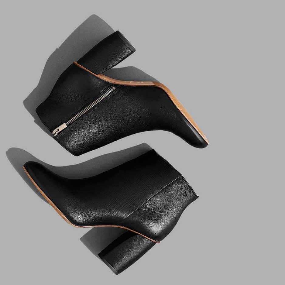 The E1 Boot, 100% full-grain Italian leather