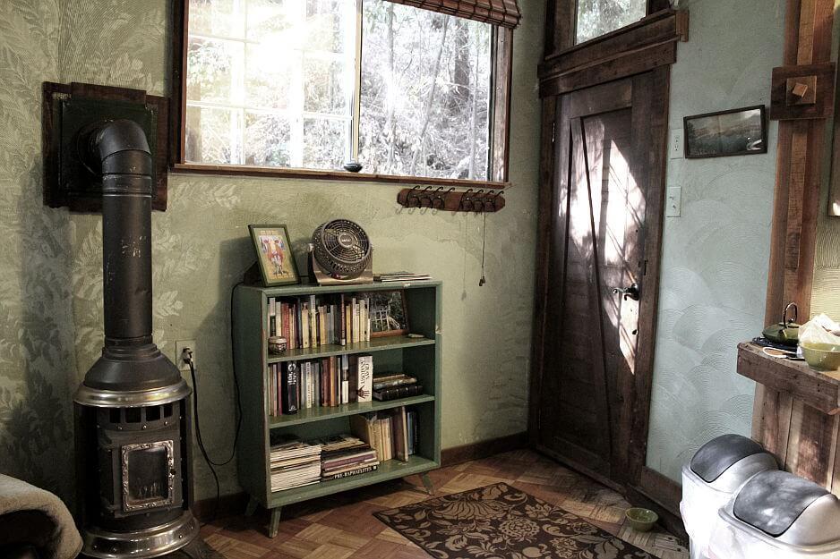redwood treehouse inside decoration eco luxury sanctuary