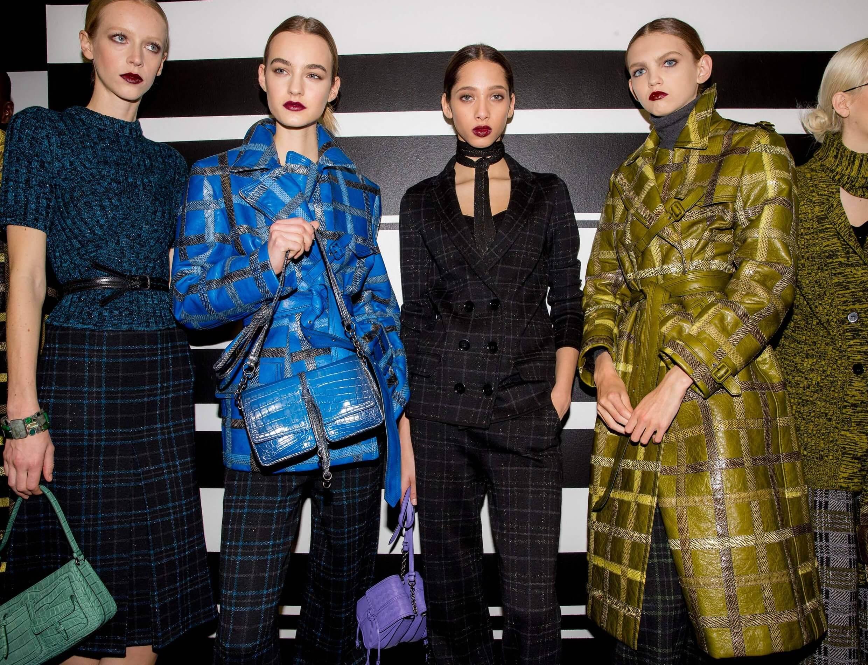 Bottega Veneta Milan fashion week 2016 mustard accents
