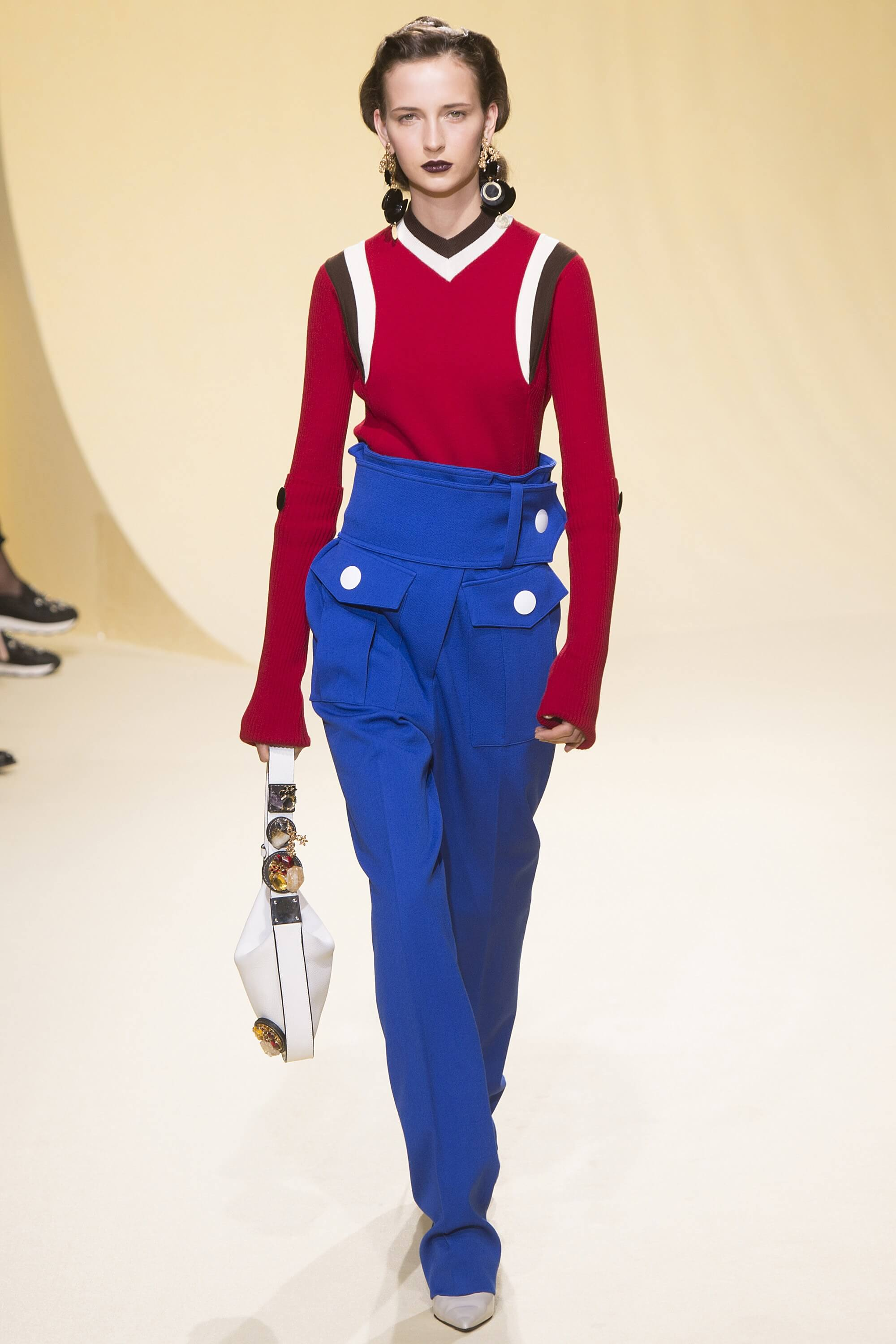 Marni Fall 2016 Ready-to-Wear Collection Tennis sweater