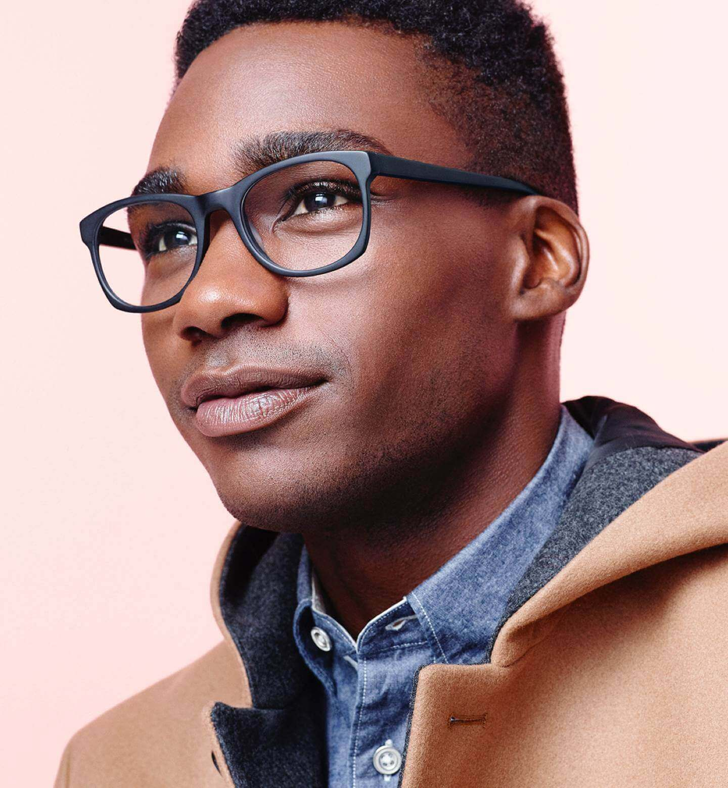 Edgar in Jet Black Matte Warby Parker