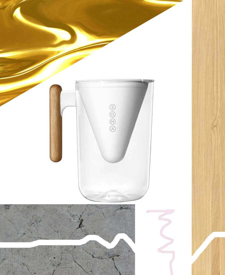 Some sustainable water filter pitcher