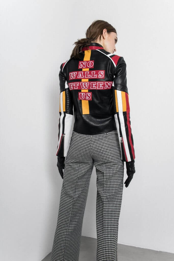 No walls between us jacket Each x Other Pre Fall 2017