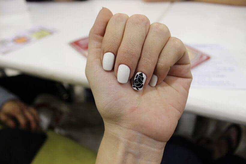 Ganesha nail art