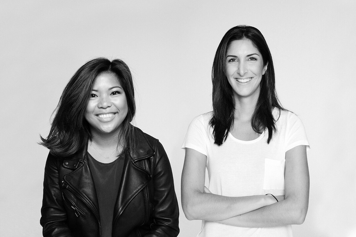 Away Luggage founders: Steph Korey and Jen Rubio