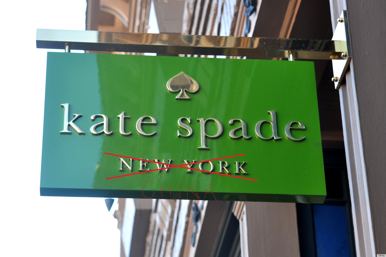 Kate Spade made in China