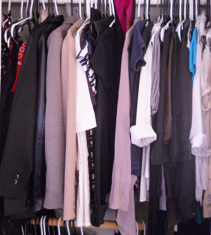 My closet before