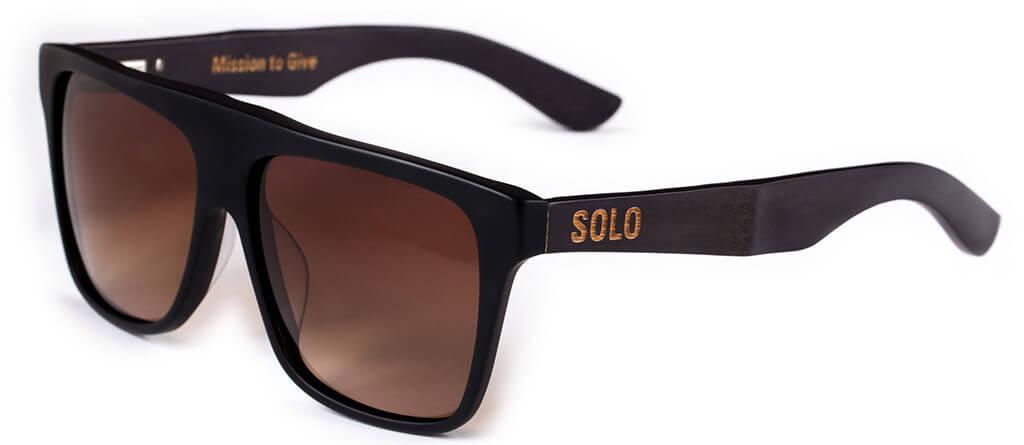 Solo bamboo Haiti sunglasses