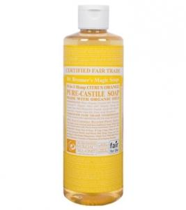 CITRUS ORANGE ORGANIC LIQUID SOAP   Dr. Bronners