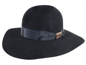WOMEN'S BELLE BLACK HAT   Pachachuti