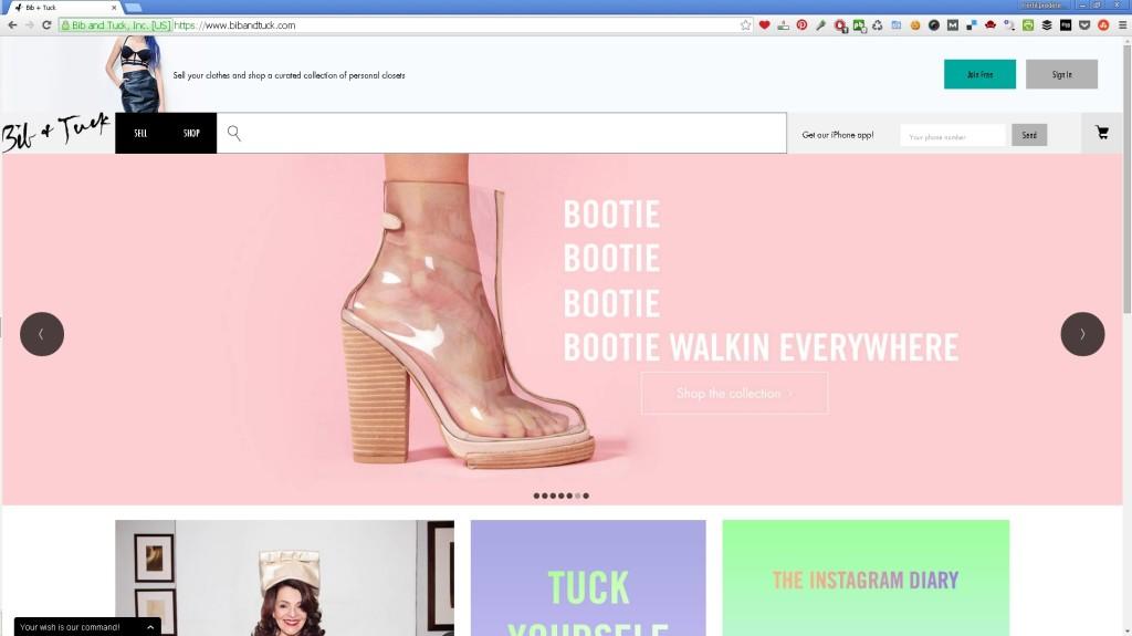 Bib+Tuck site
