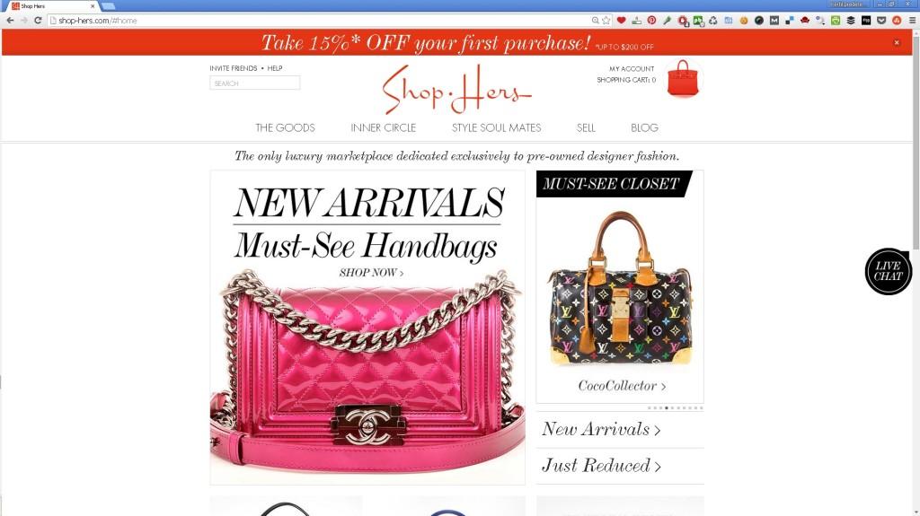 ShopHers site