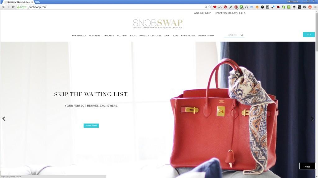 SnobSwap site