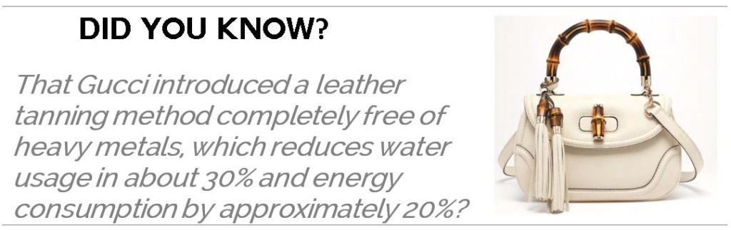 Kering Sustainability Facts | Fashionhedge
