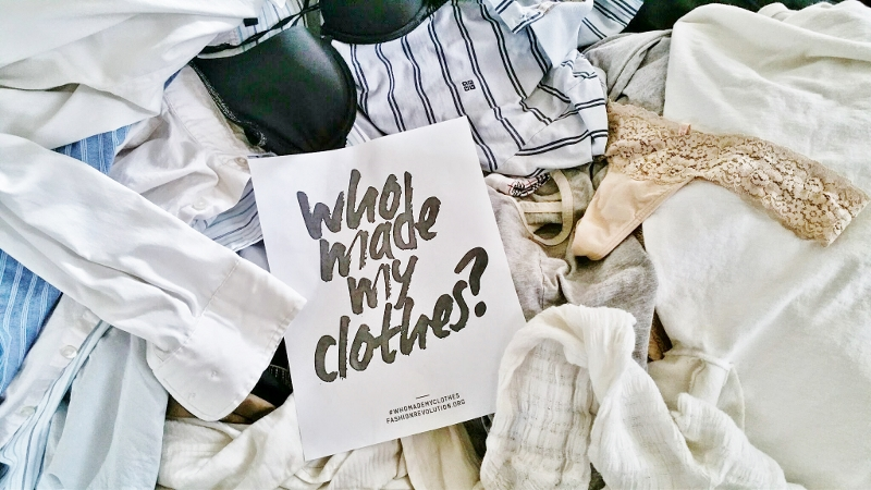 Fashion Revolution Day 2015 | Fashionhedge | Who made my clothes