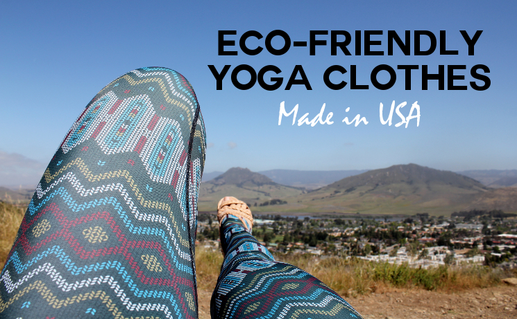 Eco=friendly Yoga Clothes Made in USA Yoga Democracy | Fashionhedge
