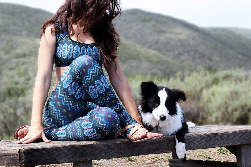 Eco friendly Yoga Pants made in the USA | Yoga Democracy x Fashionhedge