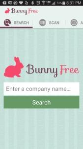 Bunny Free App by PETA
