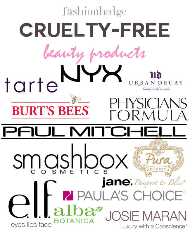 Cruelty-free beauty products | Fashionhedge.com