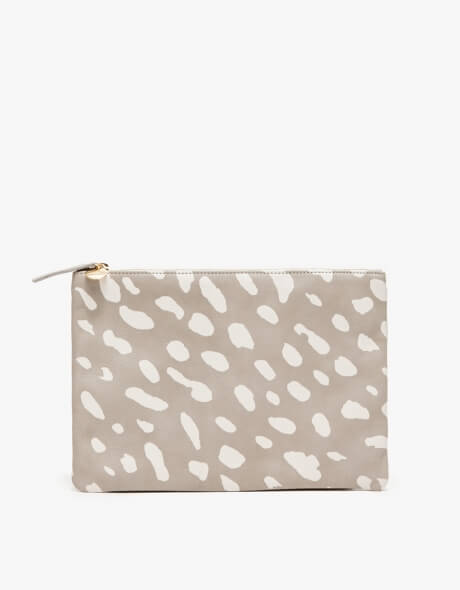 Clare V. Flat clutch Jaguar  | $150 | Made in USA | Ethical fashion