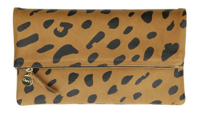 Clare V French designer | Jaguar clutch made in LA