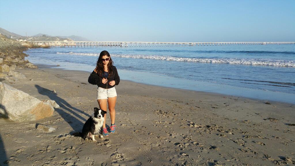 Avila Beach with Mikey