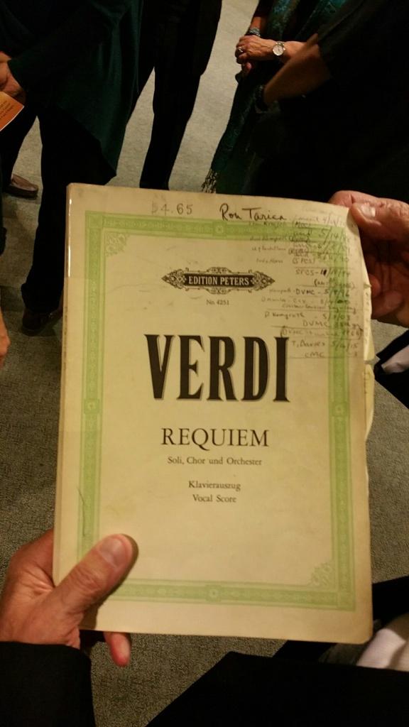 Verdi Requiem  Booklet