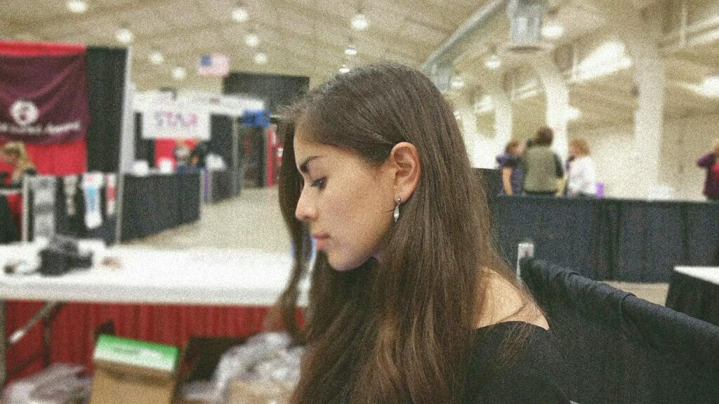 Yari at Pet Expo in Santa Clara