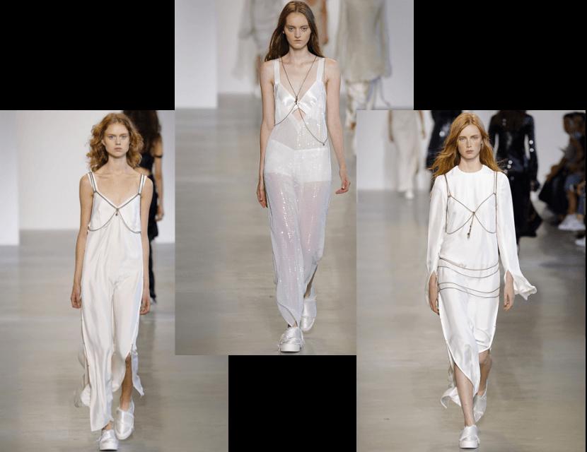 Calvin Klein NYFW 2015 Spring Summer 2016 trend Body Chains
