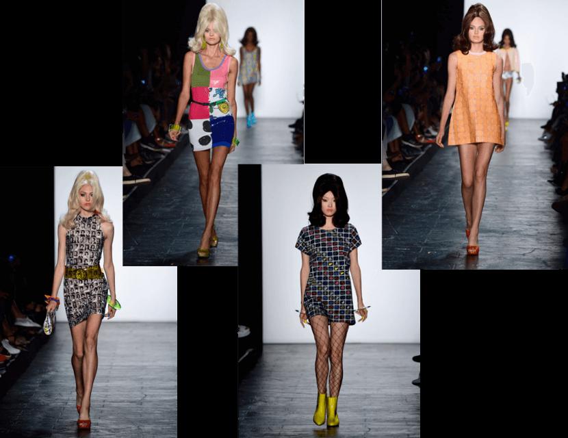 Jeremy Scott New York Fashion Week 2015 Mini Dresses