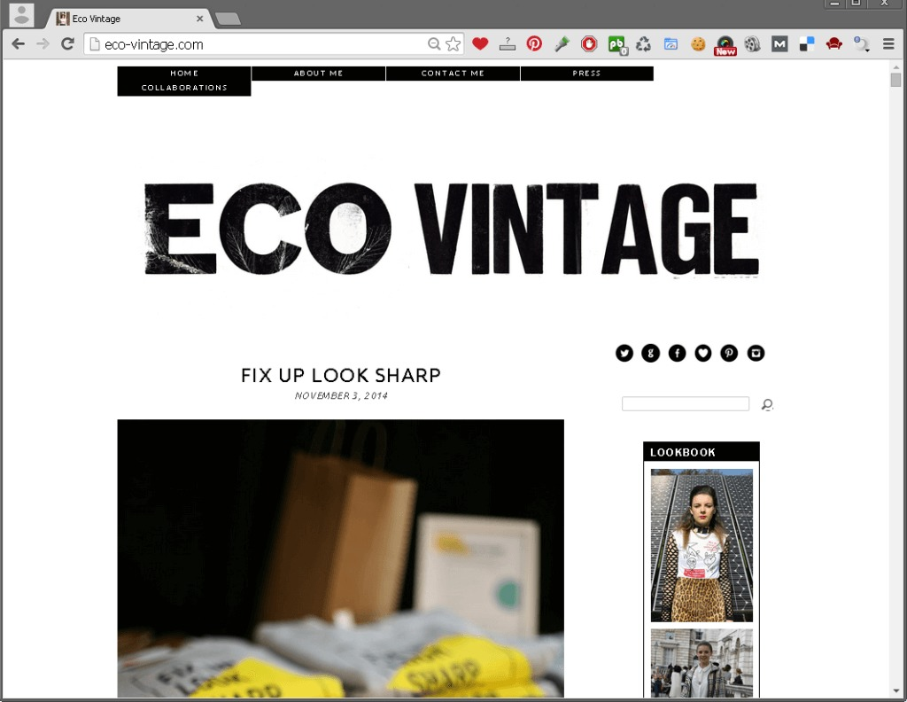 Eco Vintage | Slow fashion blog