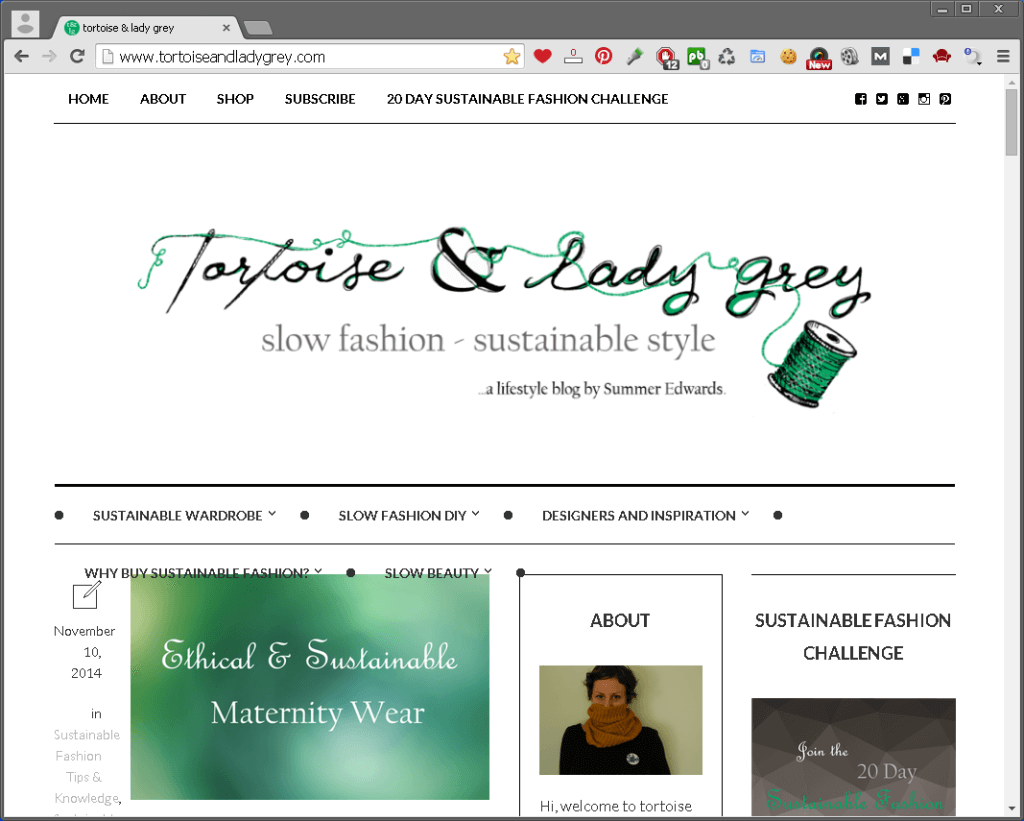 eco fashion blog