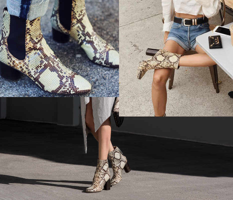 Isabel Marant Snakeskin Chelsea Boots best free shipping fast delivery official site cheap online J4qRyr