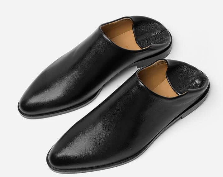 Everlane black babouches, The he Modern Babo