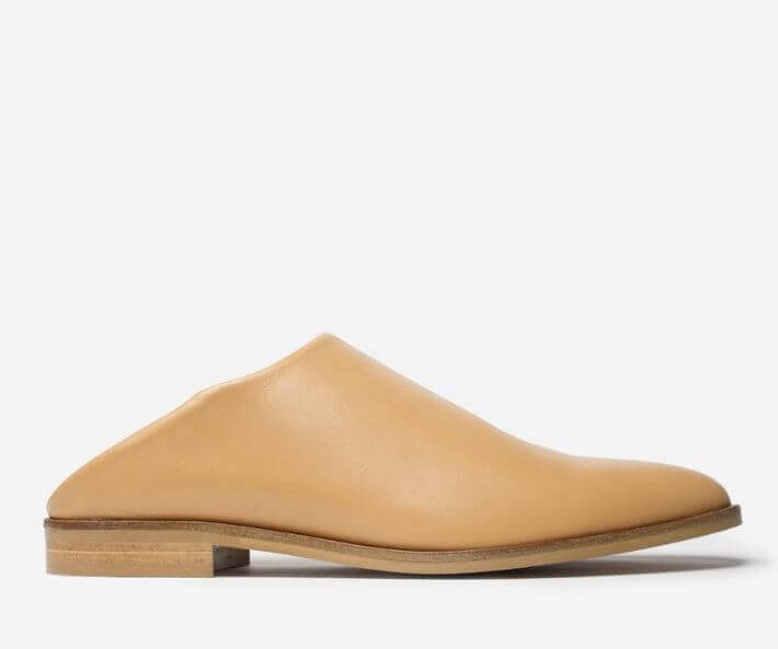 The Modern Babo, Everlane's version of the Babouche