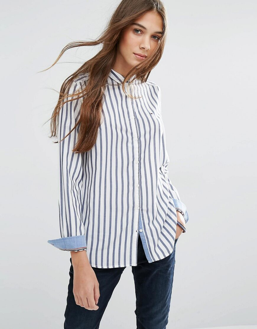 Hilfiger Denim Classic Striped Shirt