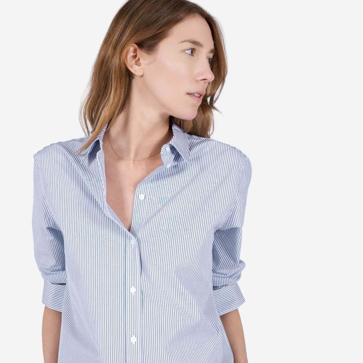 The Relaxed Poplin Shirt
