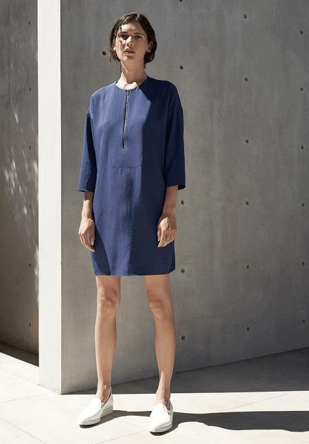 Everlane Blue Dress Japanese Collection 2016