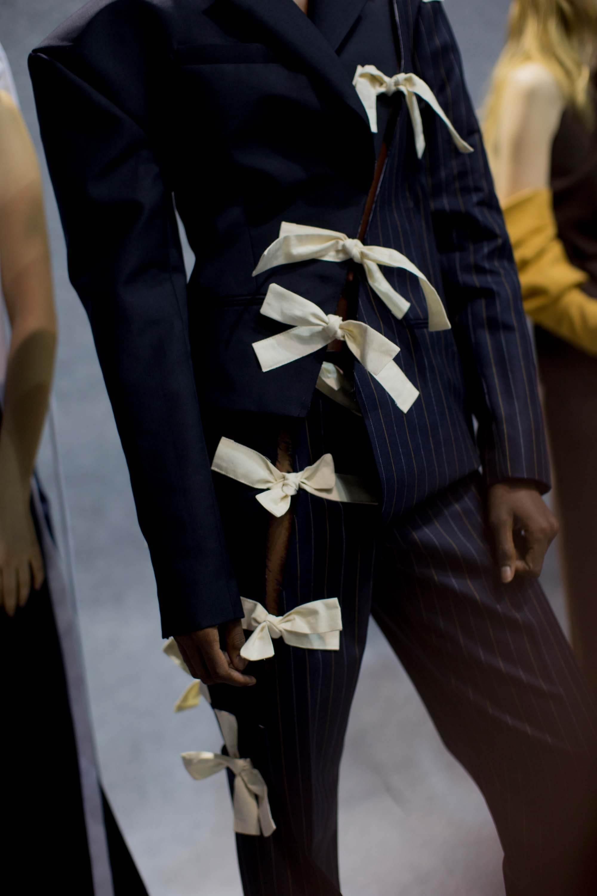 Bows trend Paris Fashion Week 2016 Kevin Tachman