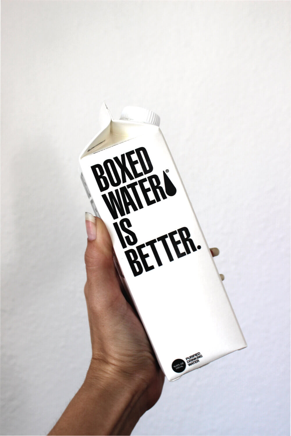 Boxed Water is Better sustainable packaging