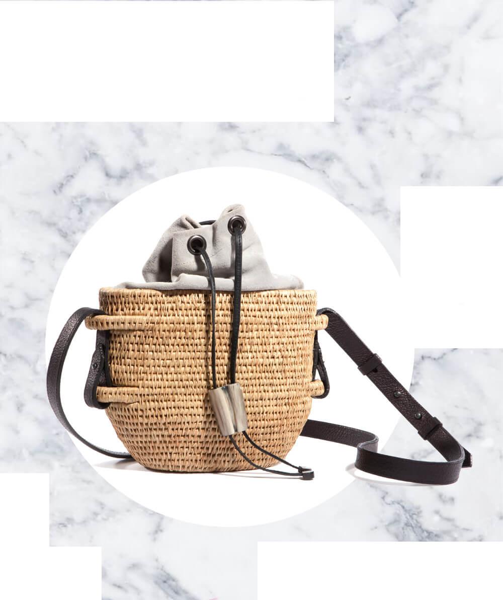 Khokho Ethical Luxury Straw Bags