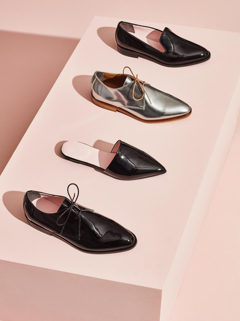Everlane E2 capsule shoes