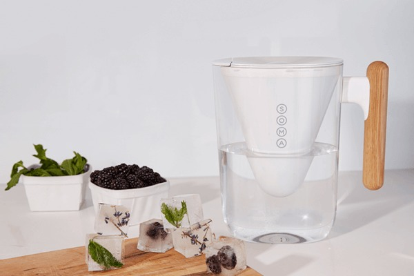 Soma sustainable water filter