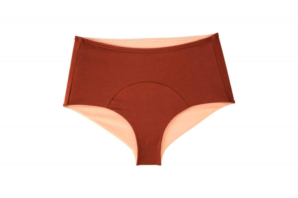 red bottoms LOV sustainable organic cotton underwear for women promoting a body positive image